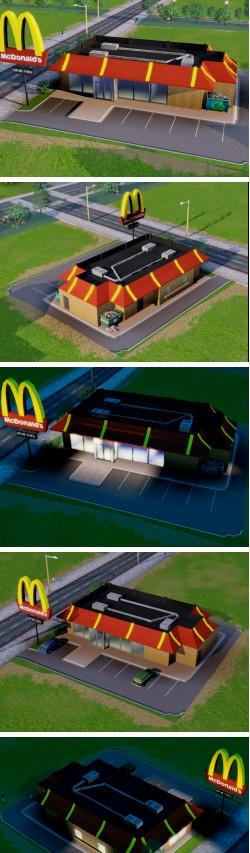 模拟城市5麦当劳美化MOD