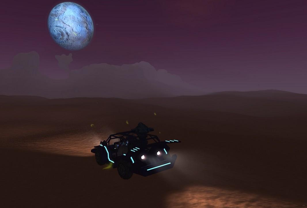 星球探险家轻型越野车MOD