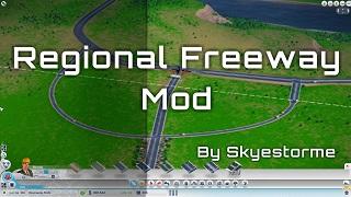 模拟城市5自定义高速路口MOD