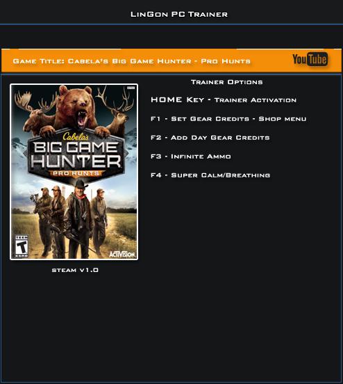 坎贝拉猎人:职业狩猎修改器+4