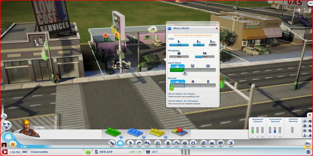 模拟城市5建筑人口调查MOD