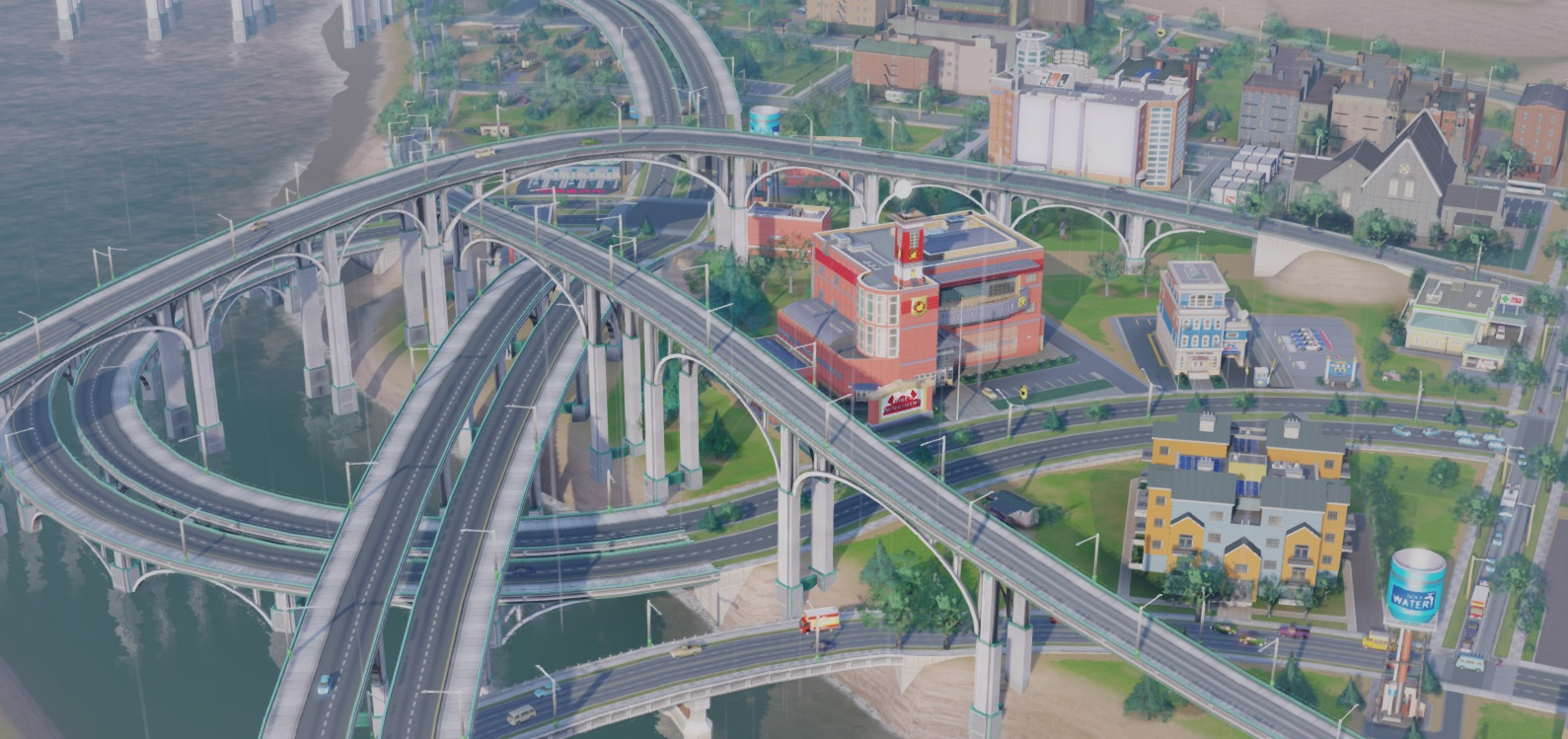 模拟城市5真实桥梁MOD