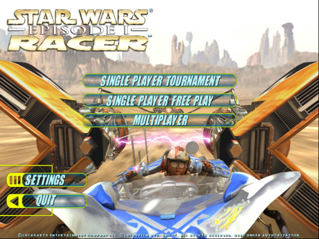 星战前传1:极速飞车截图0
