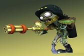 《植物大战僵尸:花园战争》设计原画