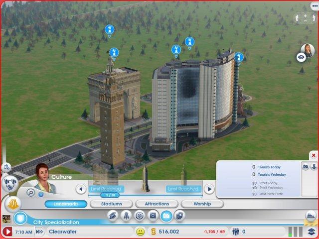 模拟城市5地标修建上限扩展MOD