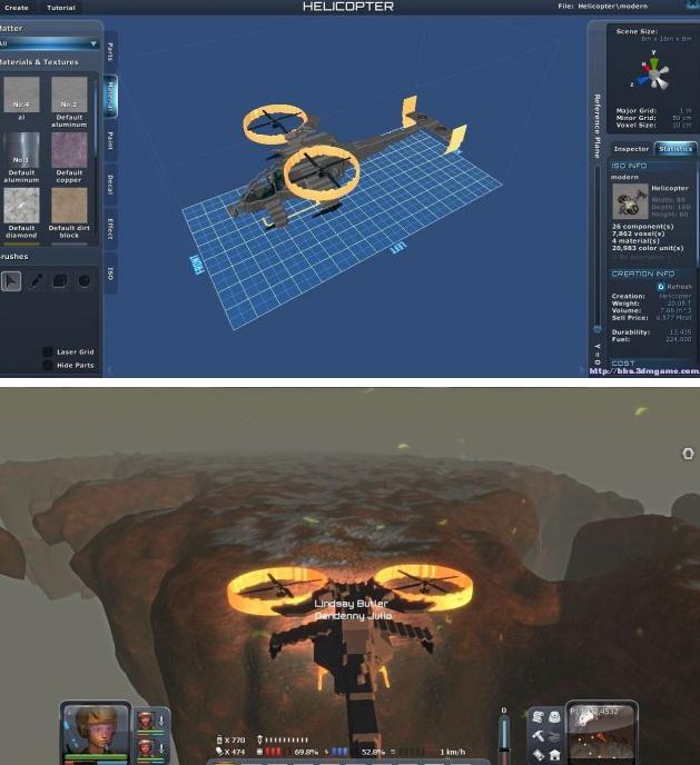 星球探险家科幻系攻击直升机MOD