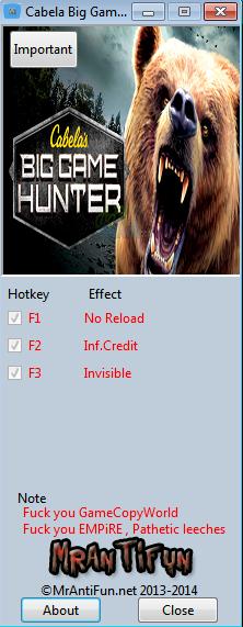 坎贝拉猎人:职业狩猎修改器+3