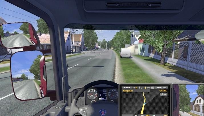 欧洲卡车模拟2全新视角MOD