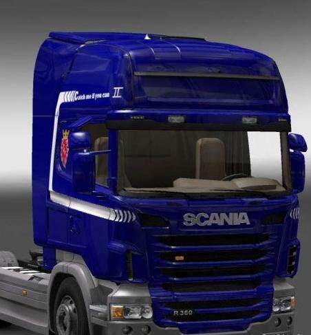 欧洲卡车模拟2斯堪尼亚汽车mod