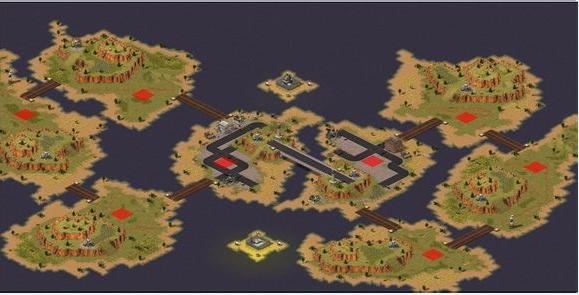 红色警戒2:尤里的复仇梦想岛地图包