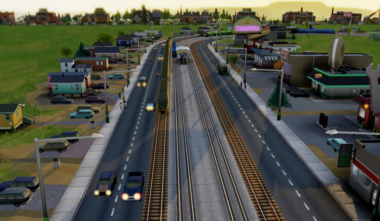 模拟城市5新型道路MOD