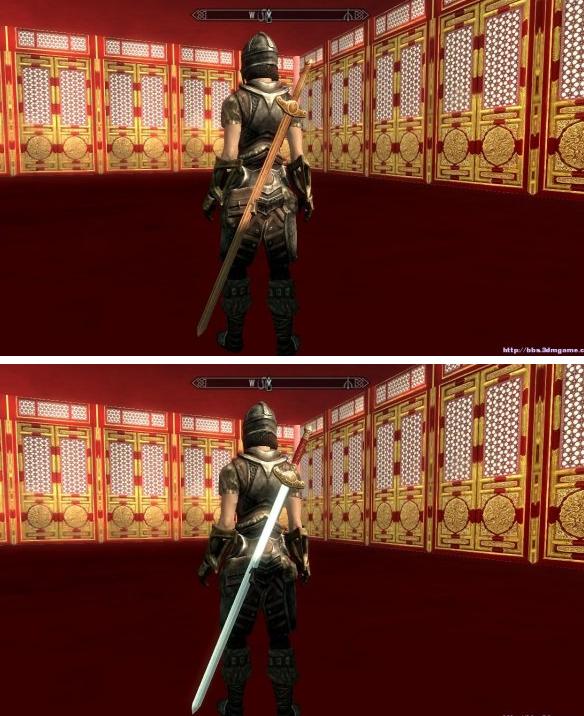 上古卷轴5中国风刀剑MOD