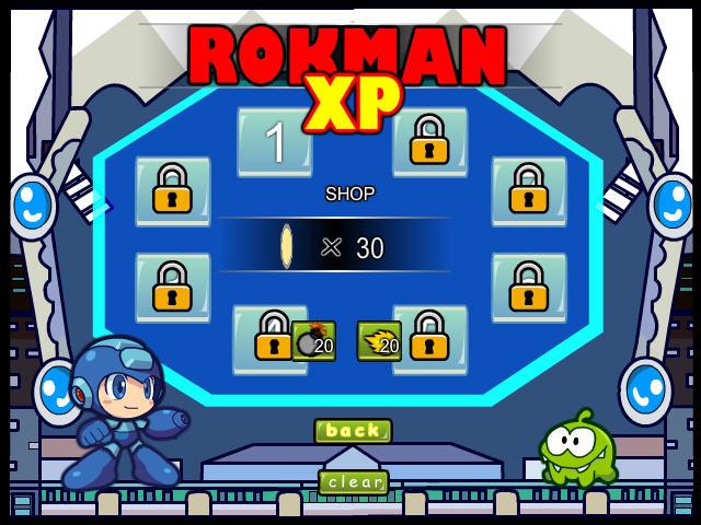 洛克人XP中文版截图0