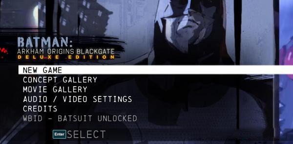 蝙蝠侠:阿甘起源之黑门监狱存档解锁初始存档