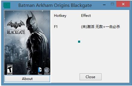 蝙蝠侠:阿卡姆起源黑门修改器+2