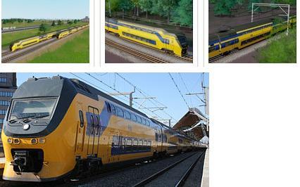 模拟城市5荷兰DD-IRM高速列车MOD