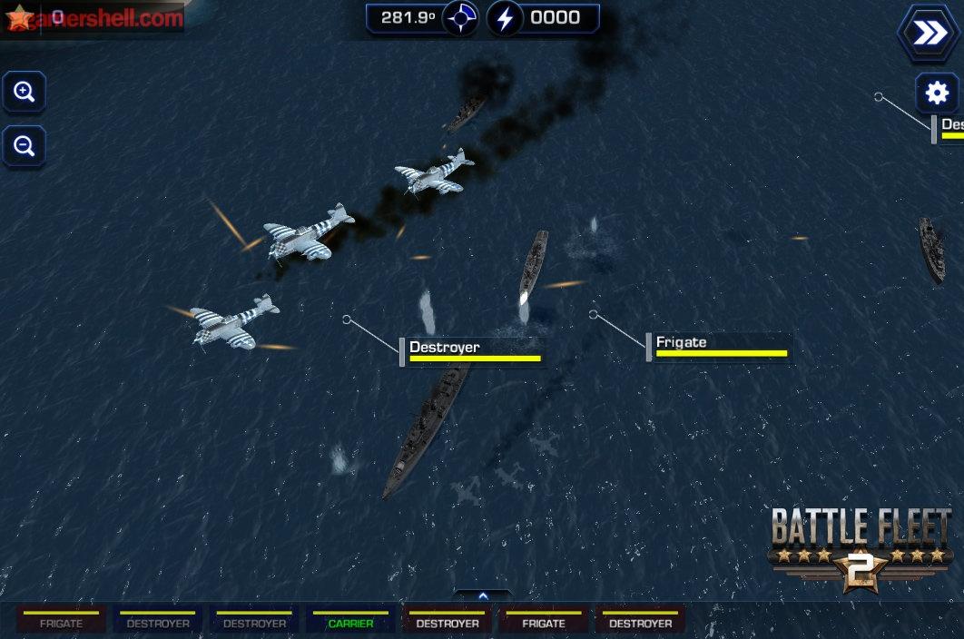 《舰队2》是一款最新登陆Steam绿灯计划的海战策略游戏,开发商Capital j Media最新公布了一批游戏截图,随我们一起欣赏吧! Capital j Media今天宣布,他们制作的海战策略游戏《舰队2》将在2014年6月登陆PC,Mac,安卓和iOS平台。该游戏是一款海战模拟游戏,设定在二次世 界大战时期。玩家手动控制武器的配置,选择装备的武器,设定角度和射击的力度,决定舰船的方向速度。航空母舰可以配置飞机来进行轰炸和对对方飞机进行拦 截,这可以为自己的舰队提供掩护,阻挡对方的实现或者逼迫敌军绕路