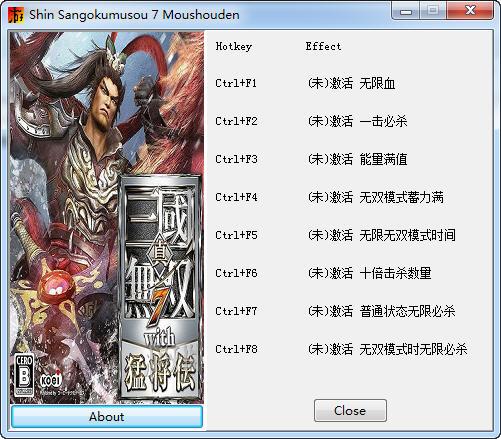 真三国无双7中文版修改器+10