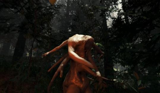 走开基佬 恐怖游戏《森林》重口味新图公布