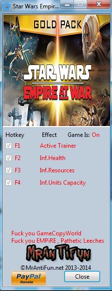 星球大战:帝国战争修改器+4