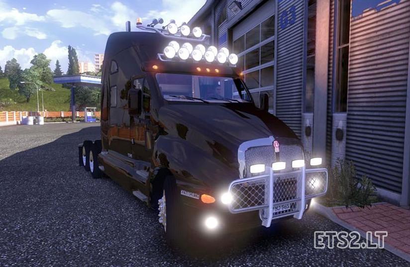 欧洲卡车模拟2肯沃斯T2000卡车MOD