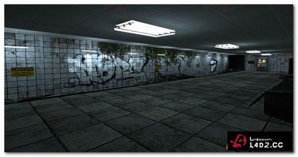 求生之路2地铁站地图mod