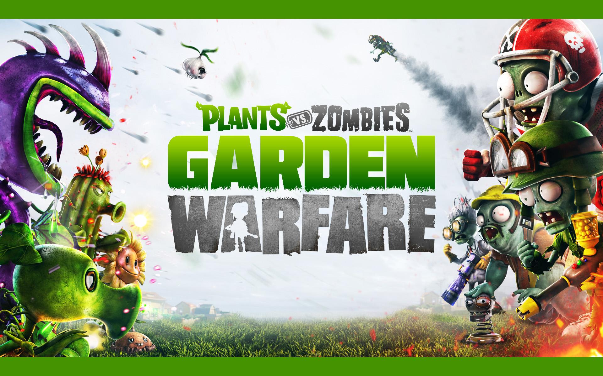 植物大战僵尸:花园战争精美壁纸