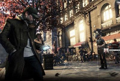 《看门狗》已成育碧主打游戏 出货量达800万