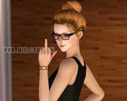 模拟人生3女式眼镜MOD