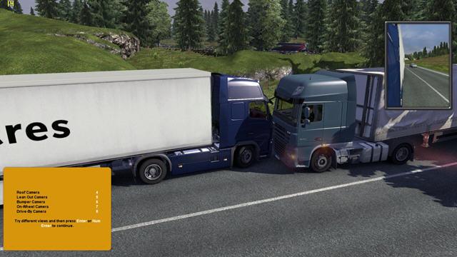 欧洲卡车模拟2真实环境MOD