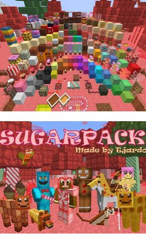 我的世界糖果主题材质包