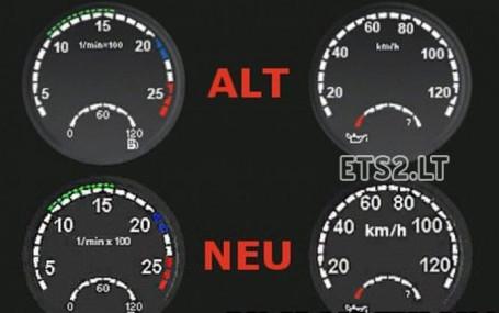 欧洲卡车模拟2仪表配件MOD