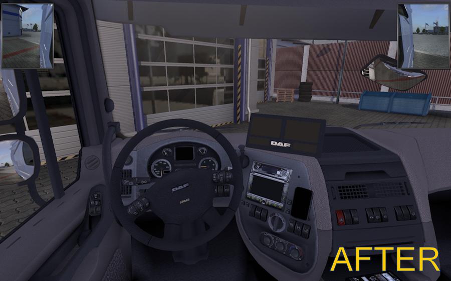 欧洲卡车模拟2小镜子MOD