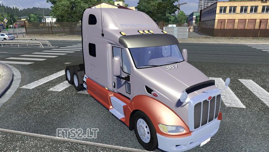 欧洲卡车模拟2彼得比尔特卡车MOD