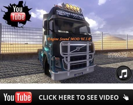 欧洲卡车模拟2自定义沃尔沃引擎声音MOD
