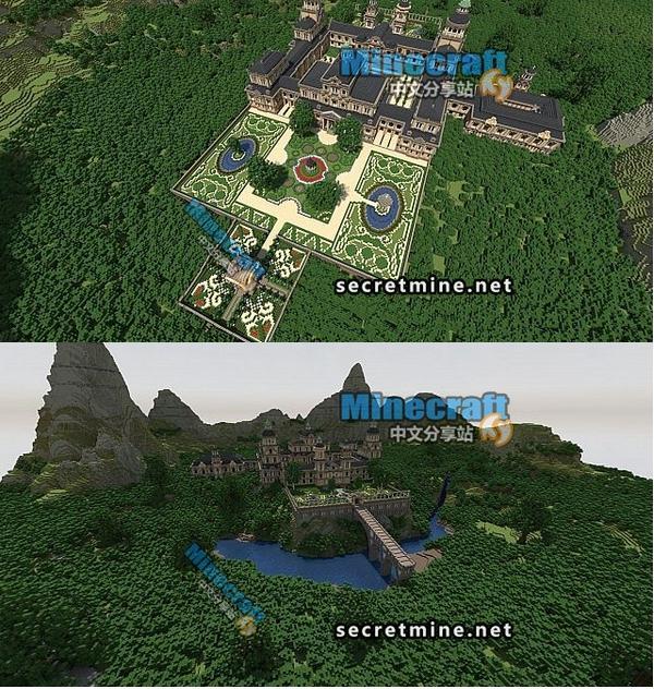 我的世界皇家园林宫殿存档