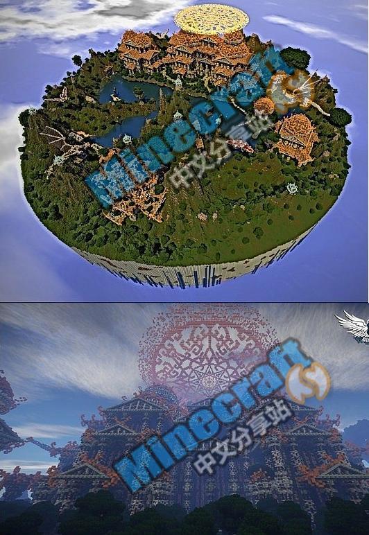 我的世界梦想之城存档
