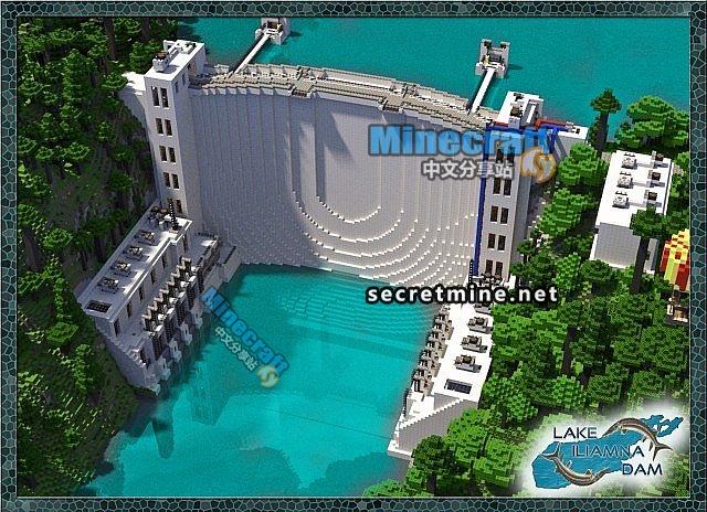 我的世界伊利亚姆纳水坝存档
