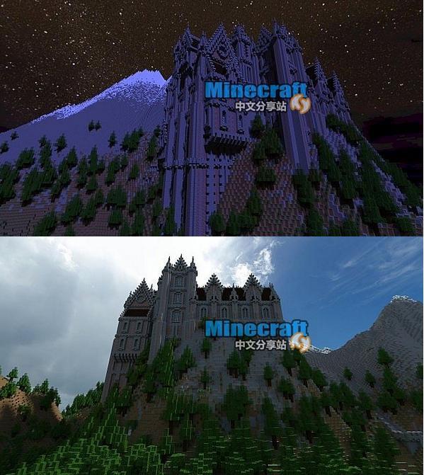 我的世界十九世纪山顶城堡存档