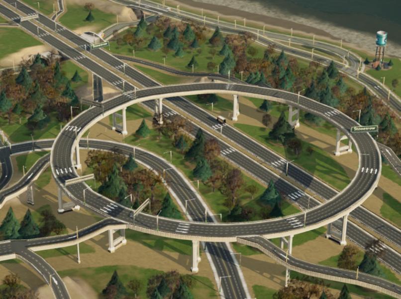 模拟城市5单行道MOD