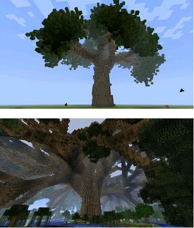 我的世界参天大树MOD