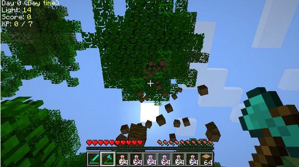我的世界砍树MOD