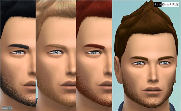 模拟人生4男士胡子MOD