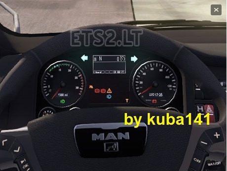 欧洲卡车模拟2MAN TGX车载电脑MOD