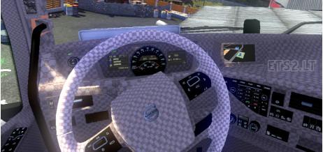 欧洲卡车模拟2沃尔沃FH2012Gucci内饰MOD