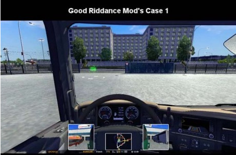 欧洲卡车模拟2优秀视野MOD