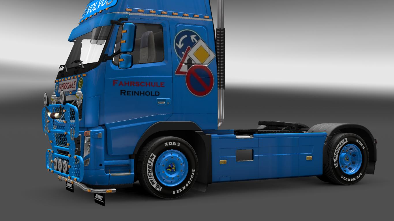 欧洲卡车模拟2沃尔沃车型轮胎MOD