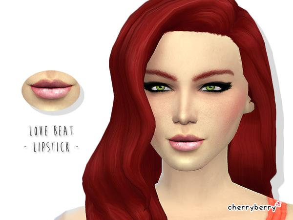 模拟人生4女性唇彩MOD