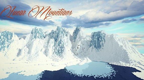 我的世界月球山脉地形存档