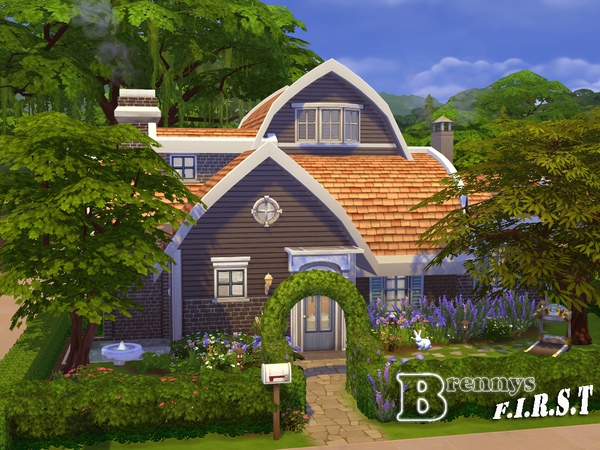 模拟人生4欧式温馨小屋MOD